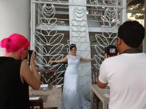 Fotografando casamento pela sua empresa Buenas Imagens
