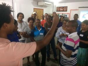 Mediando a capacitação de lideranças do Sistema BA 093_Bahia Norte_Jan.2017