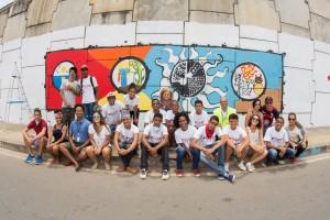 Projeto Arte e Graffiti Bahia Norte - idealizado por Loran Santos