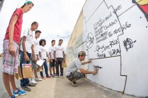 Projeto Arte e Graffiti Bahia Norte - idealizado por Loran Santos 4
