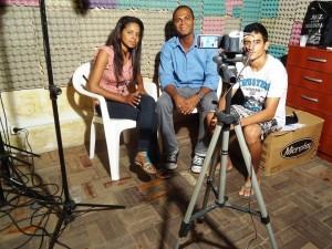 Entrevista com jovens do Coletivo Regional de Juventude na Agência Mandacaru para projeto da BrazilFoundation