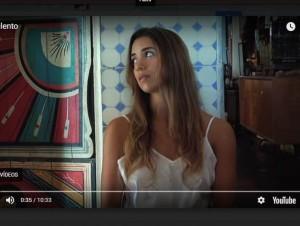 Frame do Filme Purulento, produzido por Marina Lima